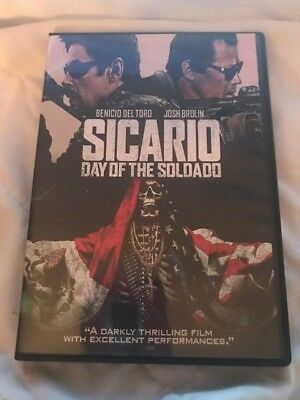 Sicario: Day of the Soldado (DVD, 2018)*FREE SHIPPING*CHECK OUT MY STORE DVDS!!