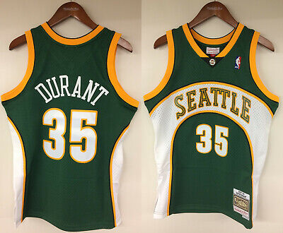 1855443b747b Kevin Durant Seattle SuperSonics Mitchell   Ness Rookie 2007-2008 Jersey  Sonics
