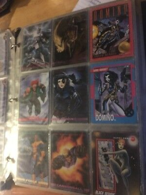 Lot Of 300+ Marvel DC Cards And Sandman