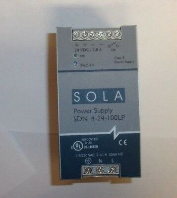 SOLA 24Volt DC Power Supply SOLA SDN 2.5-24-100P