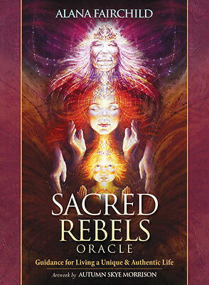 Sacred Rebels Oracle Cards by Alana Fairchild New Edition with 45th Card