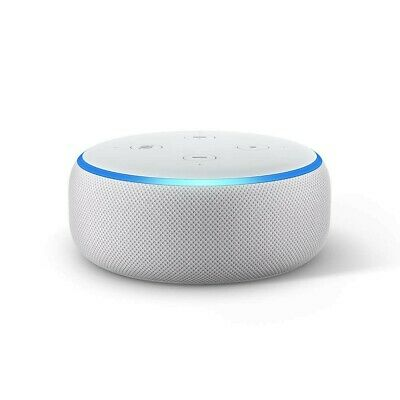 Amazon Echo Dot.(3rd Gen) - Smart Speaker with Alexa - Sandstone Fab-brand new,