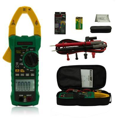Mastech MS2115A True RMS Digital DC/AC Clamp LCD Meters Multimeter Amp Voltage