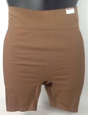 ef7785a5f5d 22 24 NWT Smoother Ultra High Waist Short Cacique Lane Bryant MOCHA Plus New