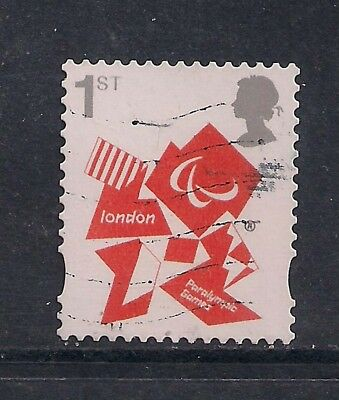 GB 2012 QE2 1st London Olympic Paralympic Games Emblem  SG 3250 ( M592 )