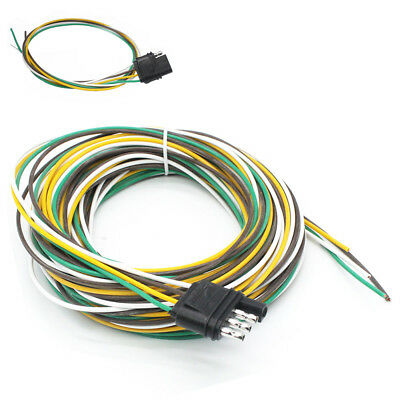 semi trailer wire harness kit 25  4 way    trailer    wiring connection    kit    flat    wire     25  4 way    trailer    wiring connection    kit    flat    wire