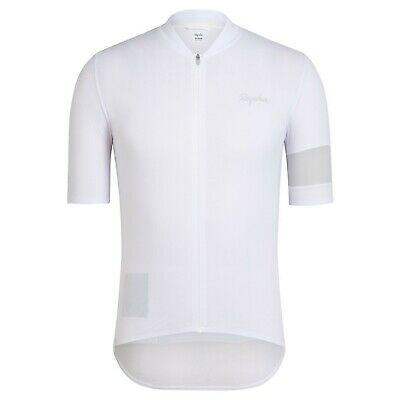 Rapha Men s Jersey Cycling Classic Flyweight Large L White RCC Pro Summer  NEW c7cfef145
