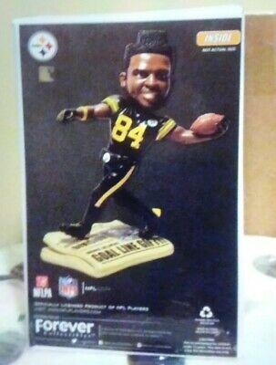c7be2ee6074 ANTONIO BROWN Pittsburgh Steelers NFL EXCLUSIVE Bobblehead--Color Rush 750  Made