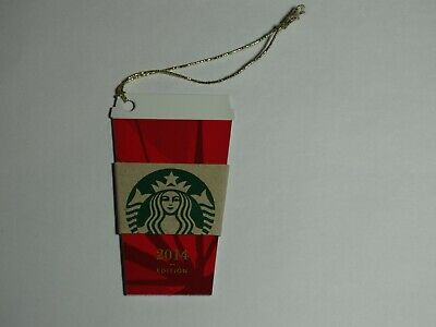 """2014 """"Red Cup"""" Starbucks Card - New & Never Swiped - Pin Intact"""