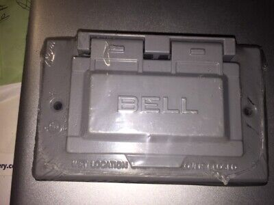 Bell Single-Gang Weatherproof Device Cover 5101-0