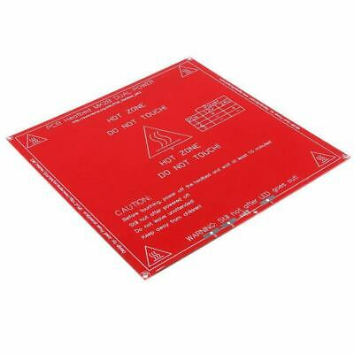 Red 3D Printer MK2B PCB Heated Bed 214x214mm Hot Bed for RepRap K8N9
