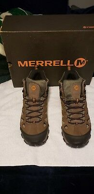 ed02e56692e NEW MERRELL MENS Pulsate Ventilator Brindle Hiking Trail Shoes ...