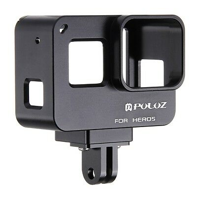 PULUZ Housing Shell CNC Aluminum Protective Frame Cage Case For GoPro HERO 7/6/5