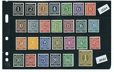 MNH stamp set / Complete 1946 Issues in holder / Post WWII / All stamps MNH