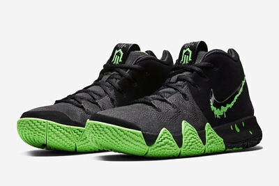 huge discount 62ed2 176d4 NIKE MEN'S KYRIE 4 Black/Rage Green HALLOWEEN SIZE 10 BRAND NEW Slime
