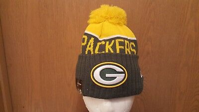 f52a4ab98 2015 NFL Green Bay Packers NEW ERA SIDELINE ON FIELD SPORT KNIT Cap Beanie