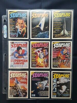 Starlog 1993 Base Set Of Cards 100+ Gold & Silver Holograms, 6 Promos,6 Chk List