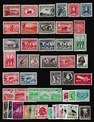 Pre Dec,Australia,Bulk Lot of Stamps,Includes Sets & Key Values,MH,CV$500,#2065