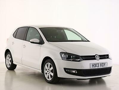 2013 Volkswagen Polo 1.4 Match 5dr Petrol white Manual