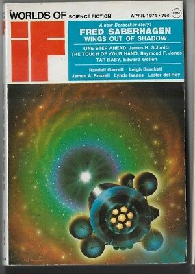 If Worlds of Science Fiction April 1974 A
