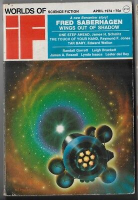 If Worlds of Science Fiction April 1974 C