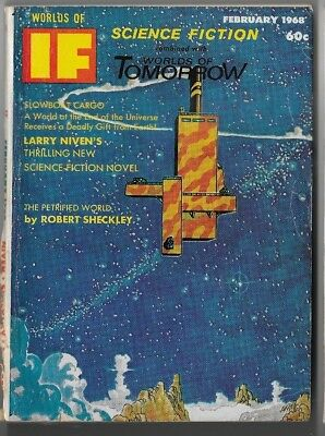 If Worlds of Science Fiction combined with Worlds of Tomorrow February 1968 A