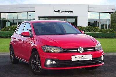 2018 Volkswagen Polo MK6 Hatchback 5Dr 1.0 TSI 95PS R-Line Petrol red Manual