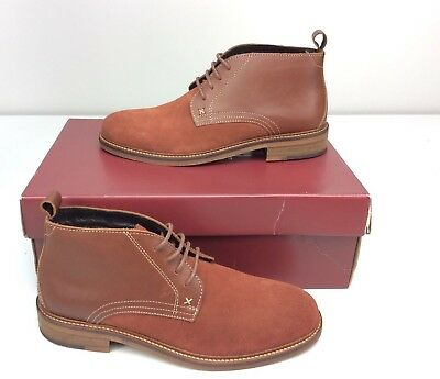 7359c6d37b1 WOLVERINE HENSEL DESERT Boot Mens Size 7 D Brown Leather Suede lace up