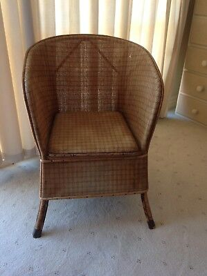 Vintage Cane Chair Pick Up Williamstown 3016