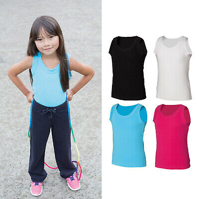 SF Mini Junior Kids Tank Vest SM016 - Children Casual Wear Summer Sports Top