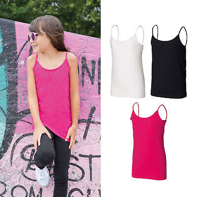 SF Mini Kids Spaghetti Strappy Vest SM212 - Children Sleeveless Casual Tank Top