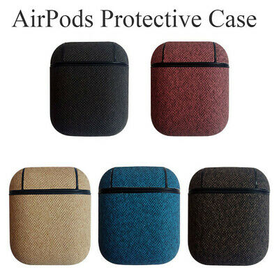 Imitation Leather Airpods Earphone Protective Case Skin Cover For Apple AirPods!