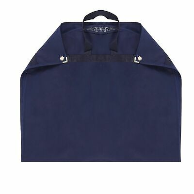 Hoesh NAVY Travel Suit Bags Breathable Carrier with Web Handle Garment Cover Bag