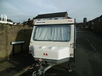 Adria Small Lightweight 2 To 3 Birth Caravan Cheap Starter Van 1990S
