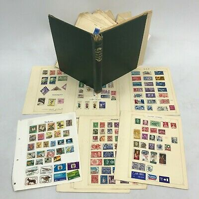 STAMP ALBUM With Large Assortment of Vintage Stamps From Around The Globe 46393