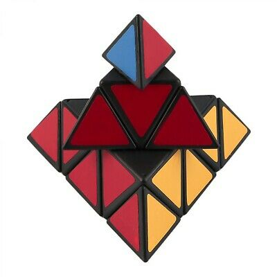 Rubiks Cube Puzzle Triangle Magic Pyramid Speed Game Twist Toy Educational Gift