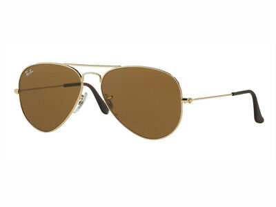 d87c9a55acb08 sunglasses Ray Ban aviator large rb3025 gold crystal brown 001 33