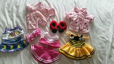 Bundle Of Clothes For Bear Factory / Build A Bear Soft Toy