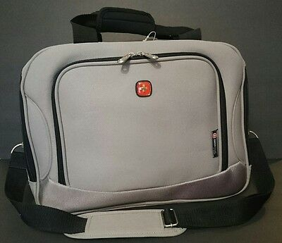 Swiss Gear Gray Carry On Over Night Luggage Bag
