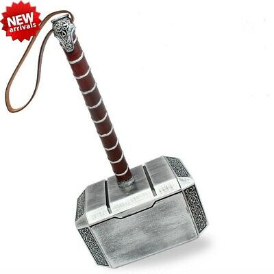 Marvel Avengers Thor The Dark World Resin Hammer Mjolnir 1:1 Cosplay Props Gifts