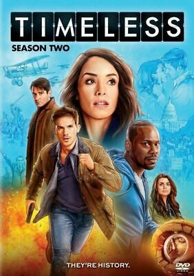 TIMELESS Season 2 Two (DVD,2018,3-Disc Set) NEW Free shipping in the US
