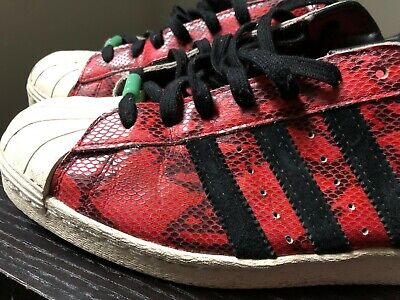 4172071b3e36 Adidas Superstar 80s CNY Year of the Snake Men s 9.5 Chinese New Year