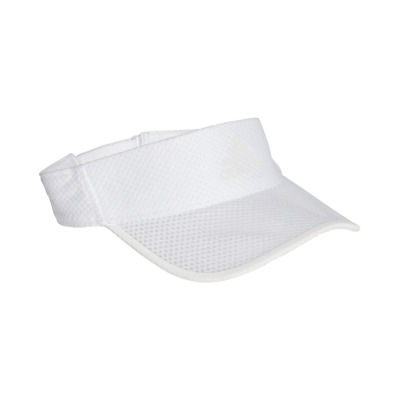 Adidas Hat Training Climacool Running Visor Cap Fashion Logo White New CF5234