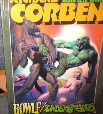 Richard Corben Complete Works Vol. 3 January 1987 First Print Edition