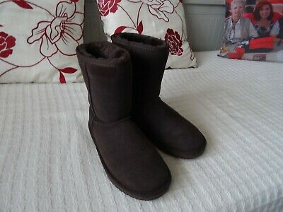 Snow Paw Boots-Size Uk 6.5 - Chocolate Brown - Immaculate Condition-Hardly Worn