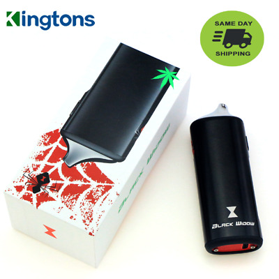 Kingtons Black Widow 2200mAh Portable Dry-Herb Vapor Vape Kit | USA Seller!