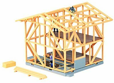 Tomytec N scale 071-2 Wooden Building Under Construction A2 1/150 Assembly kit