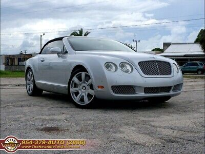 2007 Continental GTC  2007 Bentley Continental GTC Automatic 2-Door Convertible very clean