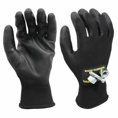 Magnogrip Super Grip PU Coated Touch Screen Magnetic Glove - L