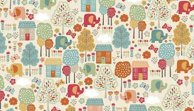 Ellie Scenic Cool Cotton Fabric Collection Patchwork Quilting